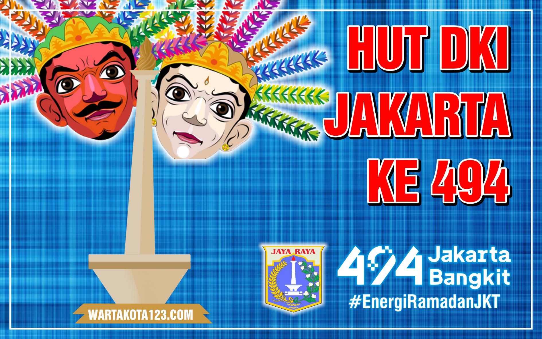 Poster HUT DKI Jakarta 2021
