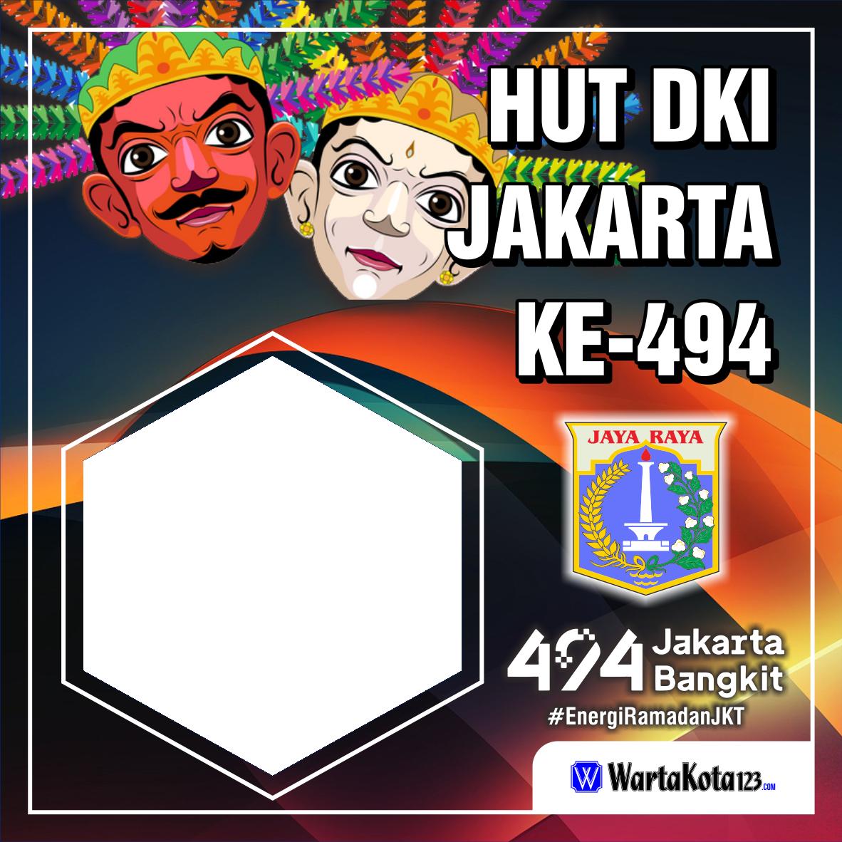 Twibbon HUT DKI Jakarta
