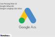cara pasang iklan google adwords