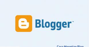 Cara monetize blog