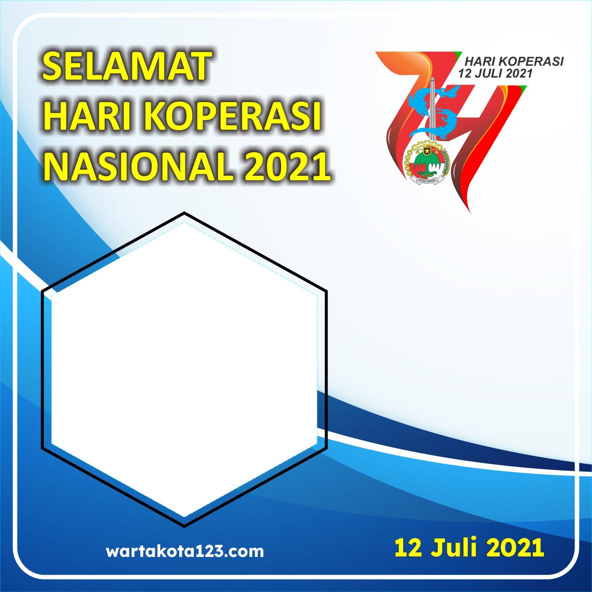 Twibbon Hari Koperasi Nasional 2021